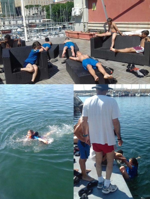 Summer activity starts at the Mascalzone Latino Sailing School