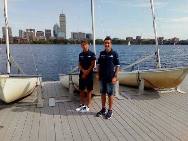 Boston: starting with a voyage and the first day in the States already filled with emotion