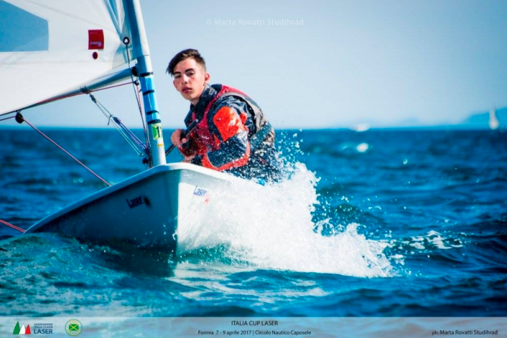 Formia: a difficult transfer, but Pistone is leader in the Silver Fleet