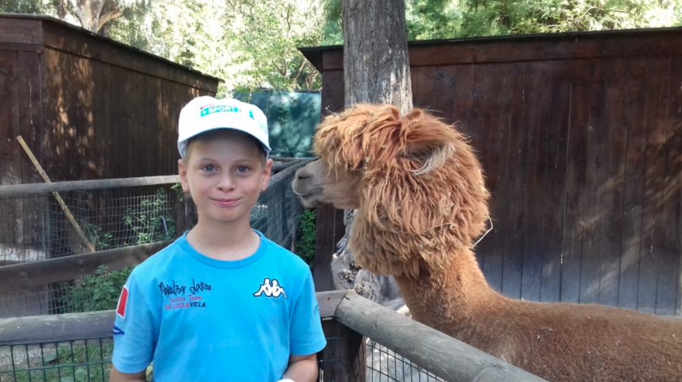 A day at the zoo for young students of the Mascalzone Latino Sailing School