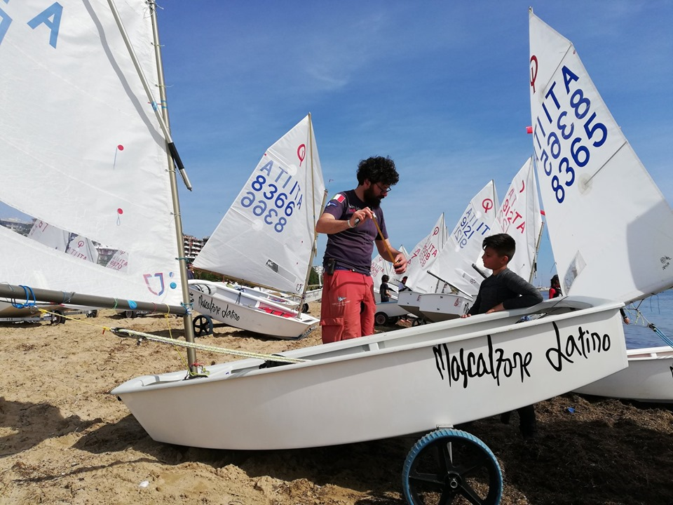 The Optisud ends with great satisfaction for the Mascalzone Latino Sailing School