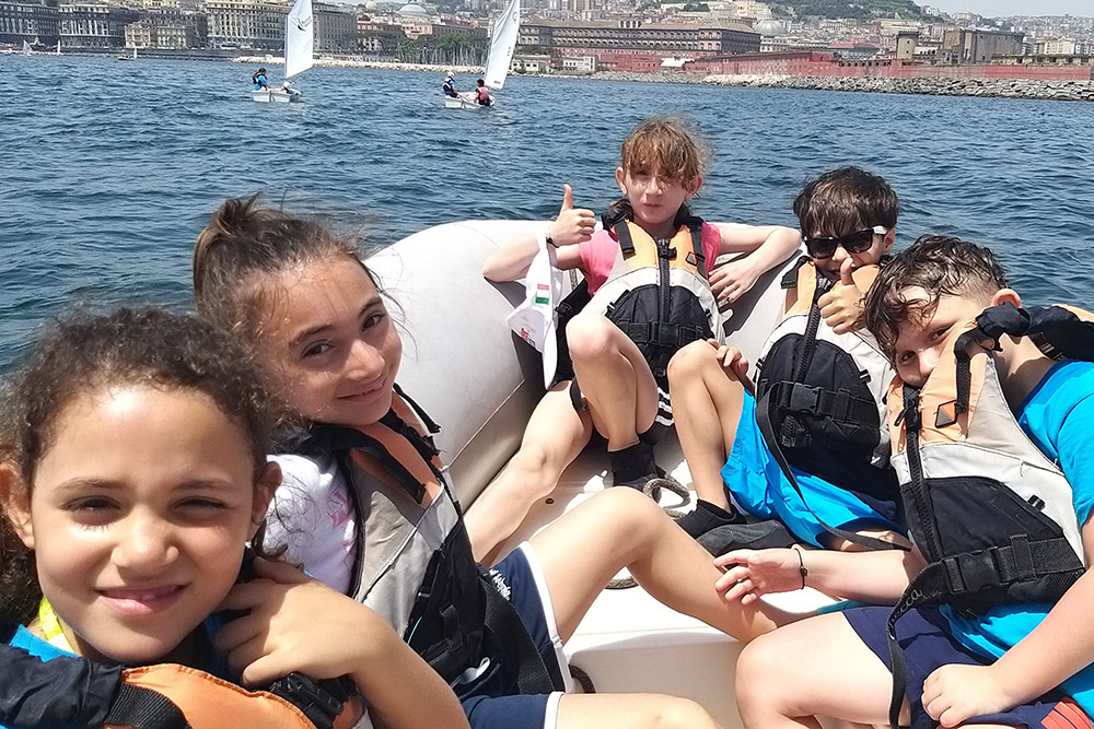 Summer School days started again in Mascalzone' Sailing School